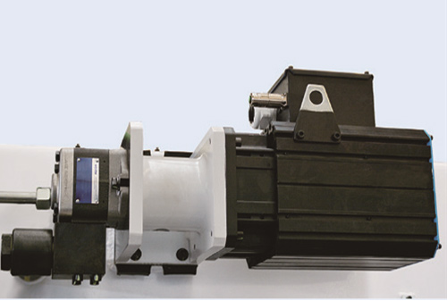 SERVO MOTOR, Prese PBC, Chitech Fiber Laseri