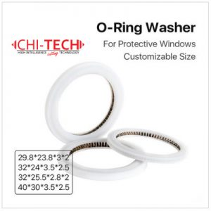 Cloudray O-ring, zaštitni prsten za 1064nm fiber lasersku glavu i zaštitna stakla, Cloudray Raytools, Chitech fiber laseri