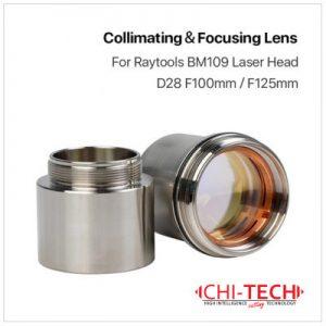 Raytools BM109 Raytools BM109 Fokusna i Kulimacijska sočiva u tubi D28 F100/125, Fiber laseri Chitech