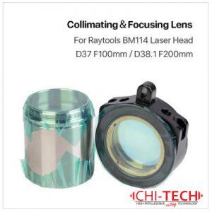 Raytools BM114 Raytools BM114 Fokusna i Kulimacijska sočiva u tubi D37 F100 / D38.1 F200, Chitech fiber laseri