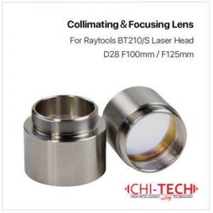 Raytools BT210/S Fokusna i Kulimacijska sočiva u tubi D28mm F100/125, Chitech Fiber Laseri