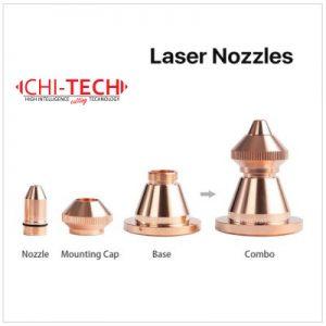 Raytools D2 tip Cloudray fiber laserske dizne (D tip) Single / Double layer, kalibar 0.8 – 4.0mm, Chitech fiber laseri