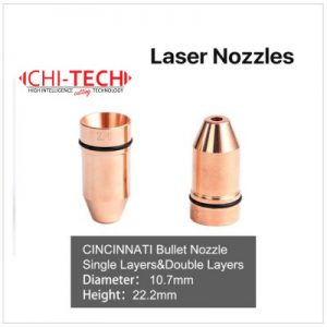 Raytools D1 tip Cloudray fiber laserske dizne (D tip) TIP RETAINER / TIP RETAINER NUT. Dizne raznih dimenzija (+hromirane), Chitech fiber laseri